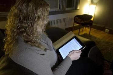 "Dina Papantoniou of Everett downloaded ""Fifty Shades of Grey'' for her e-book reader."